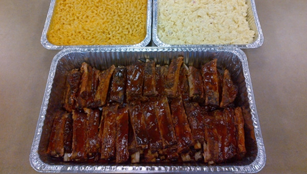 Ribs with Sides Party Pack