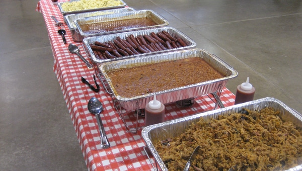 Catering at Ridge View BBQ