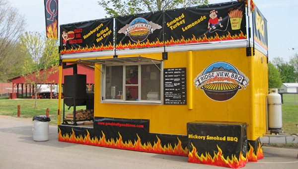 Ridge View BBQ New Trailer