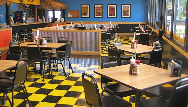 Ridge View BBQ Restaurant Interior